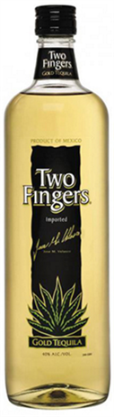 Two Fingers Tequila Gold